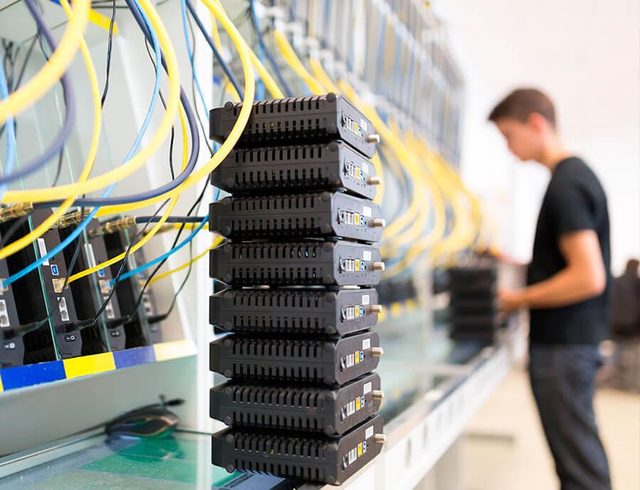 Centros de datos que se renuevan.